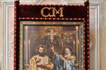 Święci Cyryl i Metody - obraz Jana Matejki w Velehradzie
