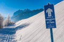 Szlak na biegówki w Austrii