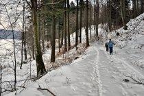 Szlak narciarski nad Jeziorem Potęgowskim