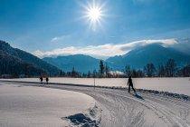 Szlak narciarski przed Miesbergiem