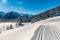 Szlak narciarski w Alpach austriackich