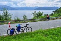 Szosa wzdłuż Hardangerfjordu