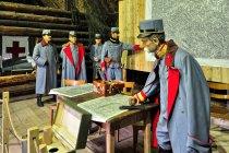 Sztab Mackensena w skansenie w Szymbarku
