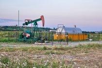 Szyb wydobywczy za Kyjowem
