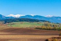 Tatry z okolic Liptowskiego Mikułasza