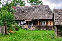 Tradycyjny dom drewniany