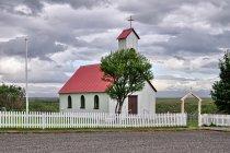 Tradycyjny islandzki kościół