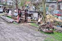 Trak do drewna w Borzechowie
