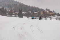 Trasa narciarska w Kulm
