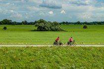 Trasa rowerowa nad Łabą