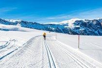 Trasa w Dolomitach