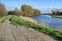 Trasa wzdłuż Motławy pod Gdańskiem