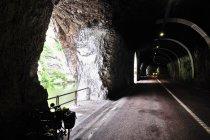 Tunel na trasie do Val Rendena