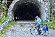 Tunel rowerowo-pieszy między Vadheim a Nordrevikiem