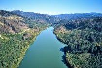 Turkusowe wody zalewu Nowa Bystrzyca na Słowacji