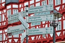 Tyle wygrać! Drogowskazy rowerowe w Duderstadt