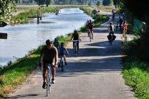 Tylu rowerzystów!