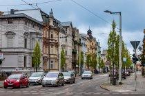 Ulica Dworcowa w Chociebużu