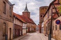 Ulica Lenzen nad Łabą