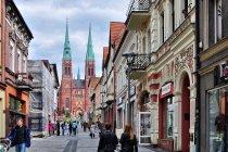 Ulica Powstańców Śląskich w Rybniku