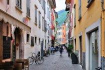 Uliczka Riwy del Garda