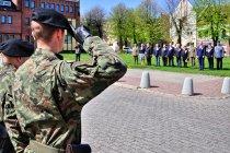 Uroczystość w centrum Braniewa