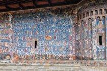 Voronec - malowana ściana klasztoru