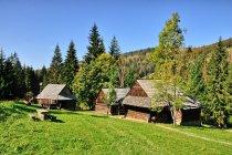 Vycholovka - domy w skansenie
