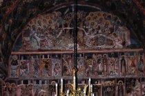 W cerkwi św. w Suczawie