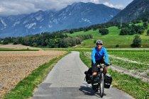 W dolinie Renu koło Chur