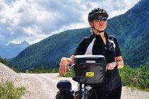 W Dolomitach na rowerach
