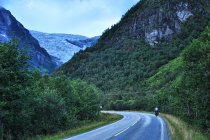 W górę doliny w stronę Boyabreen