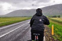 W islandzkim deszczu