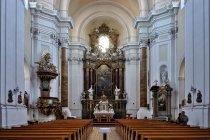 W kościele św. Mikołaja w Kromieryżu