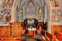 W kościele w Filisur