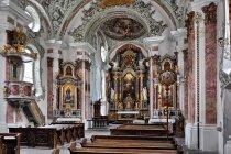 W kościele w San Candido