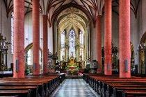 W kościele w Villach
