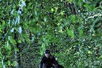 W lasach nad Jeziorem Szpęgawskim
