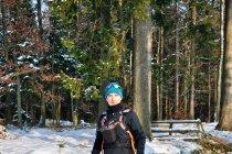 W mirachowskim lesie na biegówkach