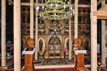 W remontowanej cerkwi św. ... w Suczawie