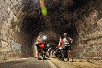 W rowerowym tunelu koło Bolzano