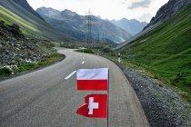 W szwajcarskich Alpach