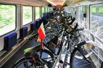 Wagon rowerowy DB z Berlina przez Hanower do Amsterdamu
