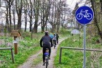 Warmia - droga rowerowa po dawnej linii kolejowej