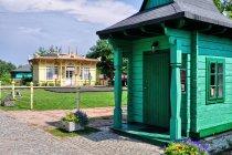 Wartownia ze Spały w skansenie w Tomaszowie Mazowieckim