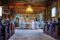 We wnętrzu cerkwi w Bereście