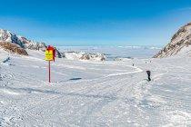 Wejście na narciarską trasę biegową Panorama