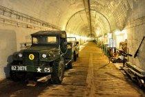 Wewnątrz bunkra w Konewce