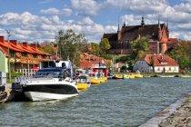 Widok na Frombork