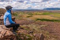 Widok na Islandię